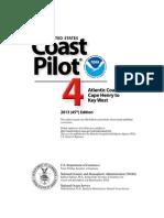 United States Coast Pilot 4 - 45th Edition, 2013