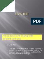 Leak Test