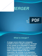 Merger Slide