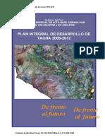 Plan Integral de Desarrollo Tacna Enero 05