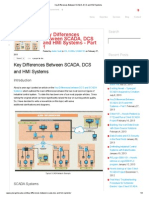 Key Differences Between SCADA, DCS and HMI Systems