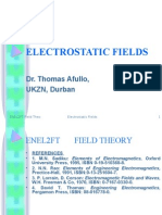 field theory Electrostatics