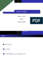 Presentation Latex