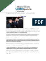 """17-01-2014 Diario de Yucatan - Tres años, el """"principio"""""""