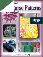 12 Beautiful Tote Purse Patterns