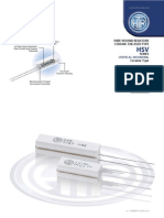 HTR India - Products - Wire Wound Resistors - Ceramic Encased Resistor - HSV (English)