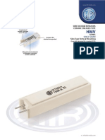 HTR India - Products - Wire Wound Resistors - Ceramic Encased Resistor - HMV (English)
