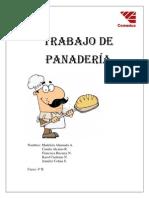 TRABAJO DE PANADERÍA