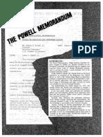 The Powell Memorandum