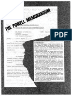 The Powell Memorandum