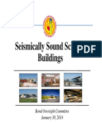 Seismically Sound School Buildings - LAUSD Report