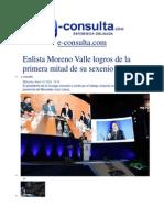 15-01-2014 E-consulta.com - Enlista Moreno Valle Logros de La Primera Mitad de Su Sexenio