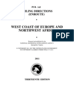 Pub. 143 West Coast of Europe and Northwest Africa (Enroute), 13th Ed 2011