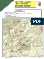 Ruta por la Sierra del Castillo (Parque Natural de las Batuecas y Sierra de Francia)
