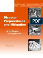 Peace Corps Disaster Training and Mitigation | In - Service Training Module 2001