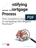 De Mystifying the Mortgage Process
