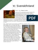 Spotlight Svenskfinland