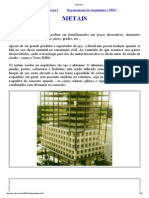 Metais na construção civil