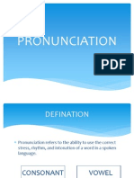 Pronunciation english