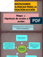 Investigación  Acción 2013