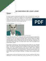Jorge Monteleone - Los poemas secretos de Juan José Saer.