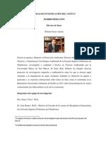 LÍNEAS DE INVESTIGACIÓN DEL CESTTA