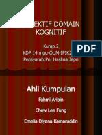 Objektif Domain Kognitif