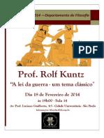 Rolf Kuntz (2014 Aula Inaugural)