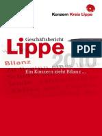 Konzern Kreis Lippe - Ein Geschäftsbericht