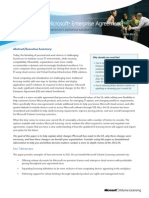 Why an Updated Microsoft Enterprise Agreement White Paper 0212