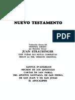 Biblia Straubinger - Nuevo Testamento