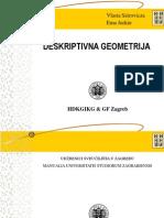 Nacrtna Geometrija Predavanja Zagreb