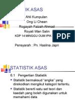 Statistik Asas