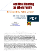 Raw Food Meal Planning for the Whole Family