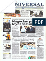 Gcpress Portadas Medios Nacionales Vier 31 Ene 2014