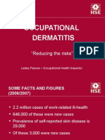 Occupational Dermatitis in Hairdressing (Feb 06)