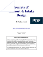 Secrets of Exhaust and Intake Design
