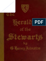 HERALDRY OF THE STUARTS BY HARVEY JOHNSTON