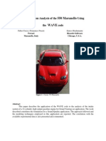 Intake System Analysis of the Ferrari 550 Maranello Using the Wave Code