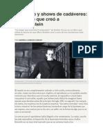 Gabriela Cabezón Cámara - Comercio y shows de cadáveres, el mundo que creó a Frankenstein.
