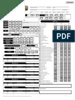 photograph relating to Printable Pathfinder Character Sheet named Editable Pathfinder Identity Sheet