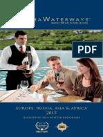 2015 AMAWATERWAYS  CRUISES