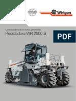 RECICLADORA WR2500S