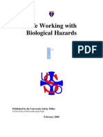 Safe Working With Biological Hazards