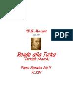 [Free com Mozart Wolfgang Amadeus Rondo Alla Turka 17940