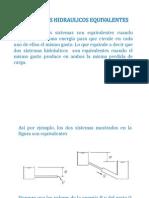 SISTEMAS HIDRAULICOS EQUIVALENTES