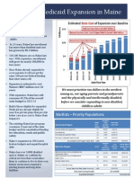 Medicaid Expansion in Maine One Pager Final