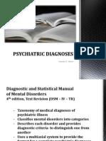 Psychiatric Diagnoses