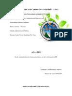Análisis Era de la Industrialización e Información - 250114