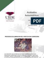 Acabados Automotrices Corrosion